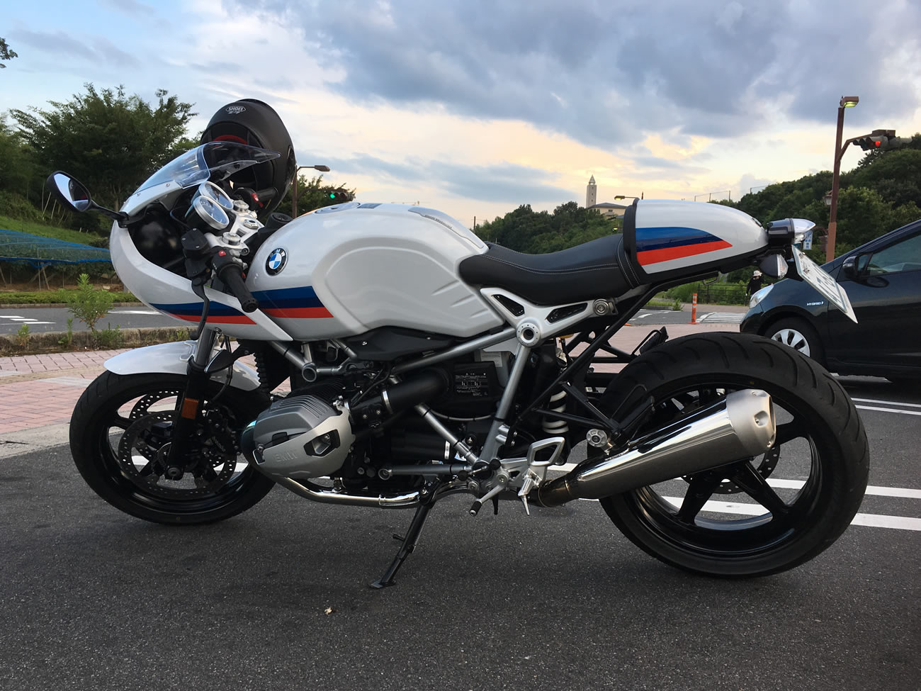 R nineT racer(BMWのカフェレーサー )ってどんなバイク?