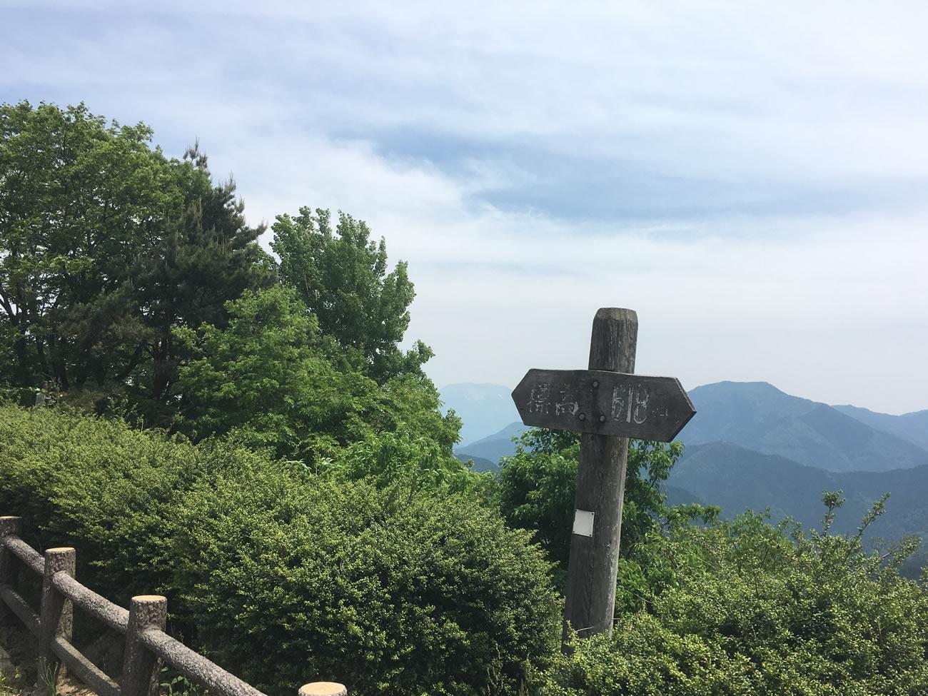 鳥取県の日野町の絶景