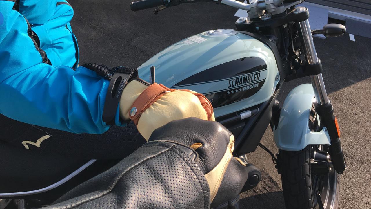 安全運転祈願のグータッチ