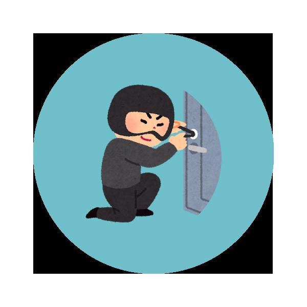 鍵穴いたずら盗難保証