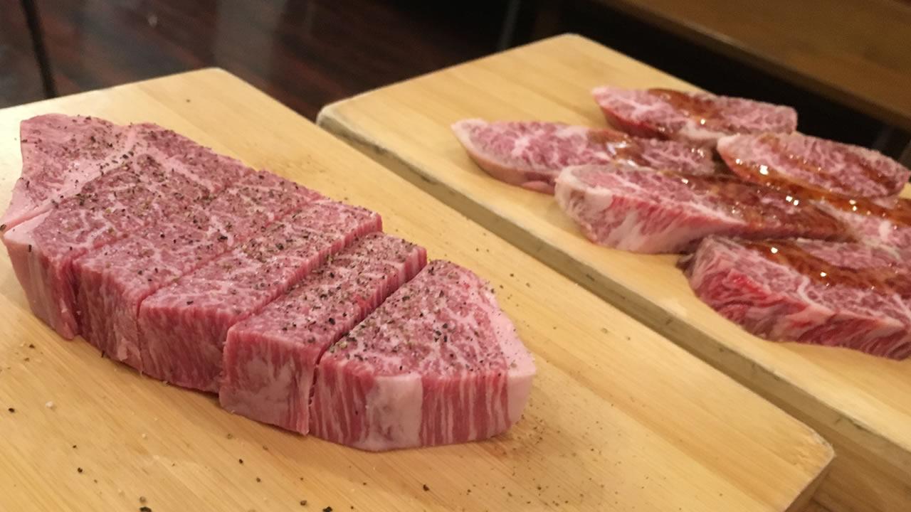 焼肉香洛苑のフィレ肉
