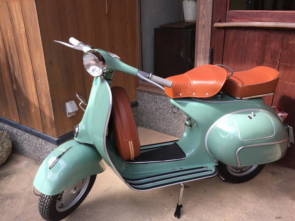 イタリアバイク・ベスパ