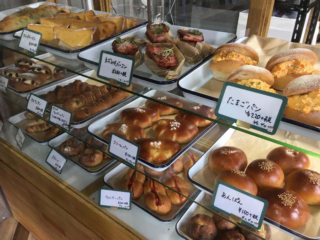 ヤマネベーカリーのパン