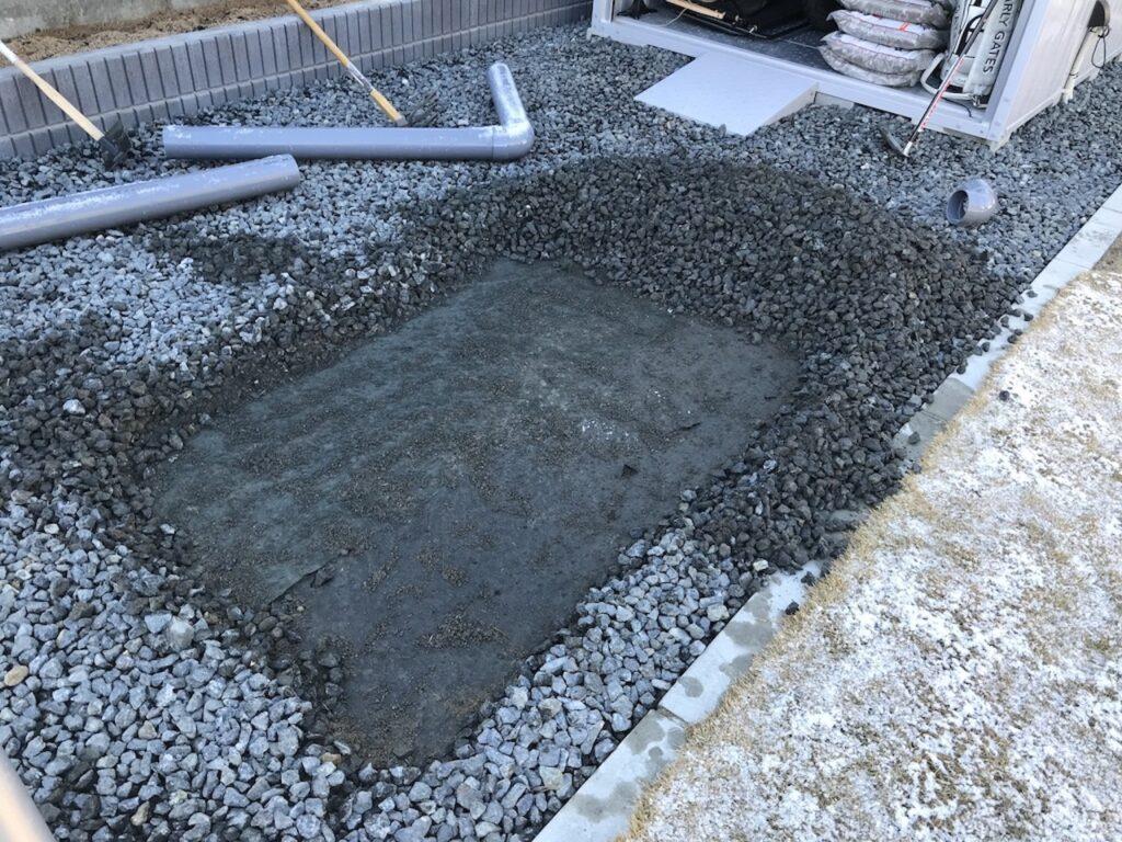 砂場スペース完成