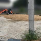 ついにマイホーム着工へ!工程表が完成し、建方に向けて表土処理が完了