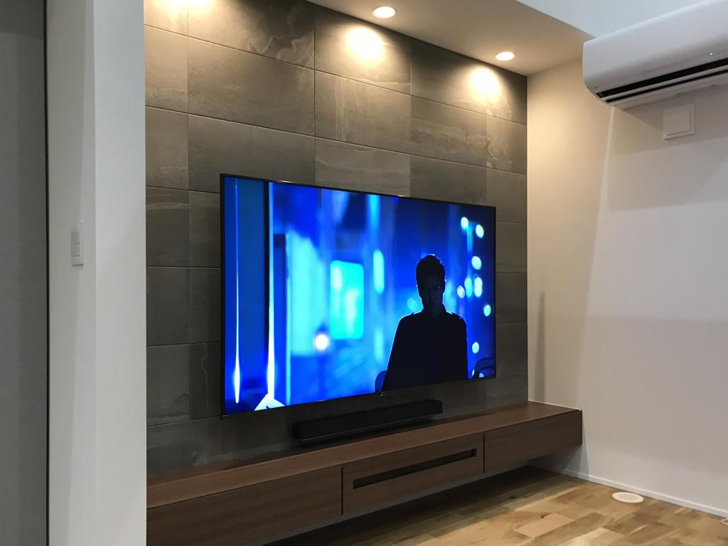 ソニーのブラビア75型の4Kテレビ(KJ-75X8500F)