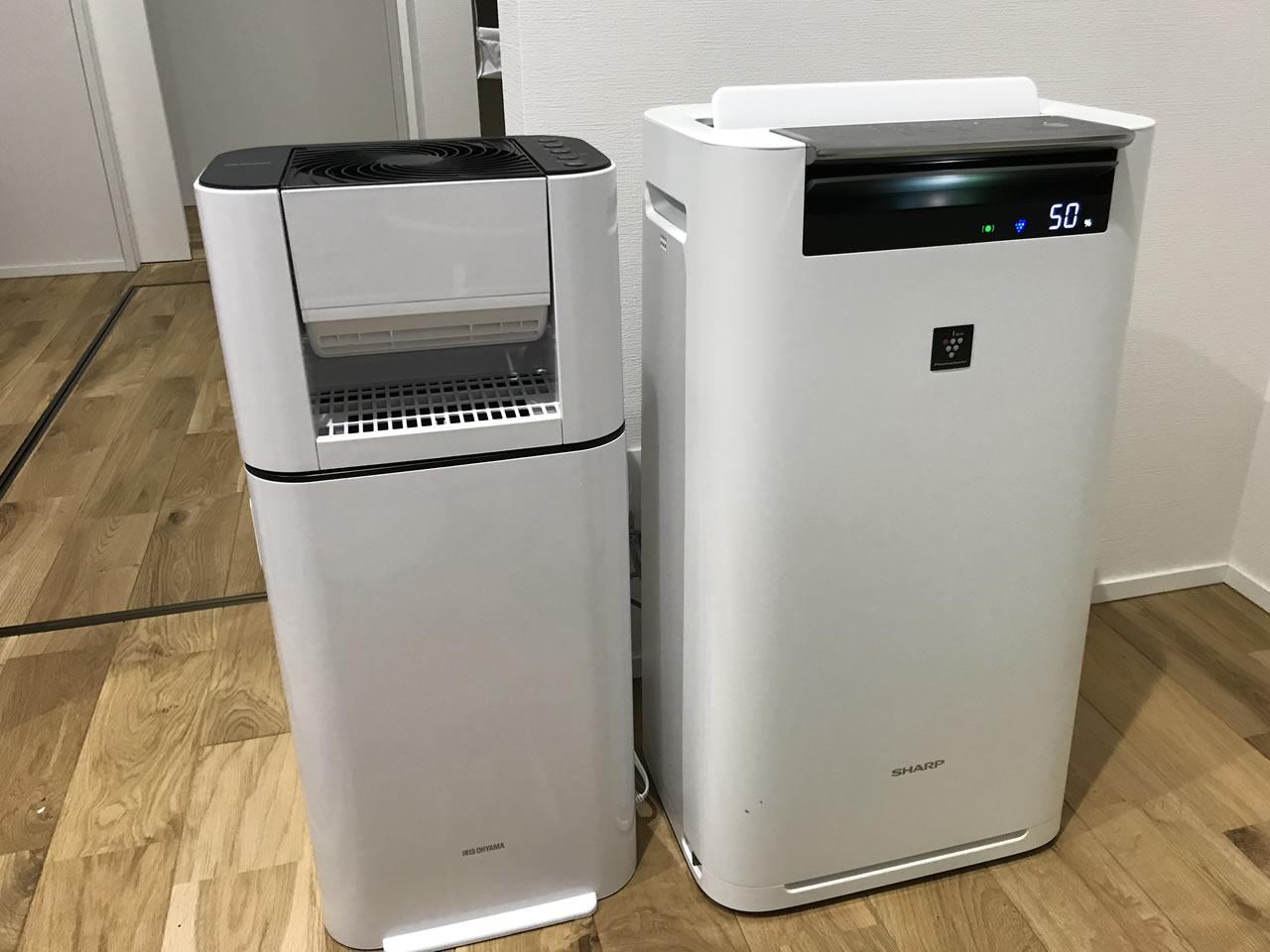 空気清浄器よりもコンパクト