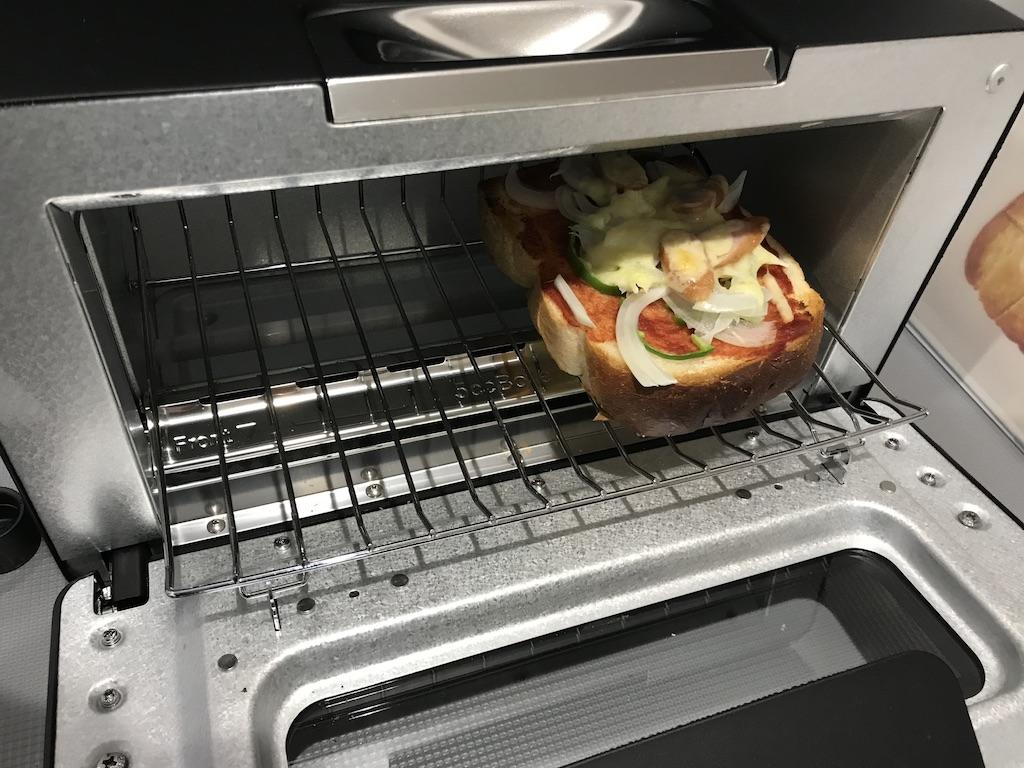 ピザトーストを焼いてみた