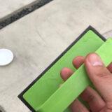 【実際にやってみた】コンクリート駐車場のタイヤ痕除去には『外壁・玄関ブラッシングスポンジ・AZ655(アズマ工業)』がおすすめ!実際にタイヤ跡を消した方法・効果を写真付きでレビュー