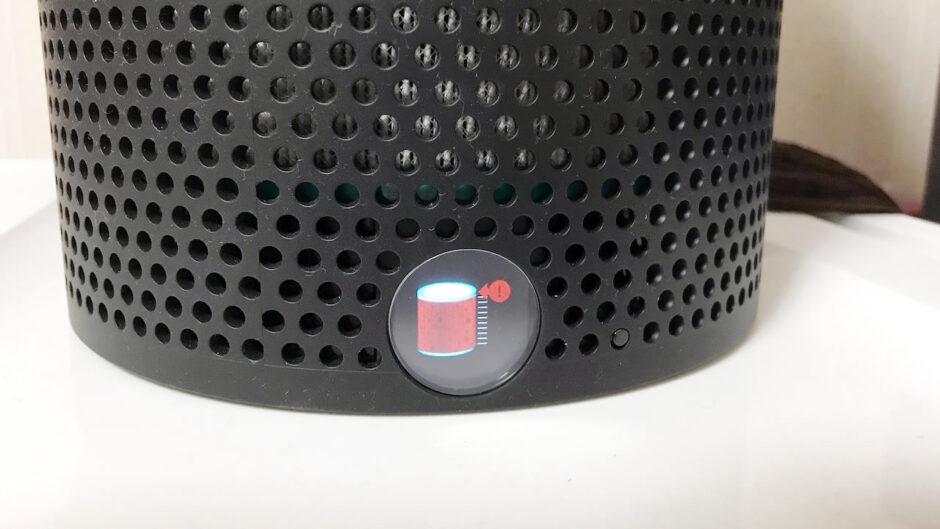 ダイソンピュアクールミーBP01(Dyson Pure Cool me)パーソナル空気清浄ファンの真っ赤なエラーコード表示って何?フィルター交換・アラートリセットの方法を解説