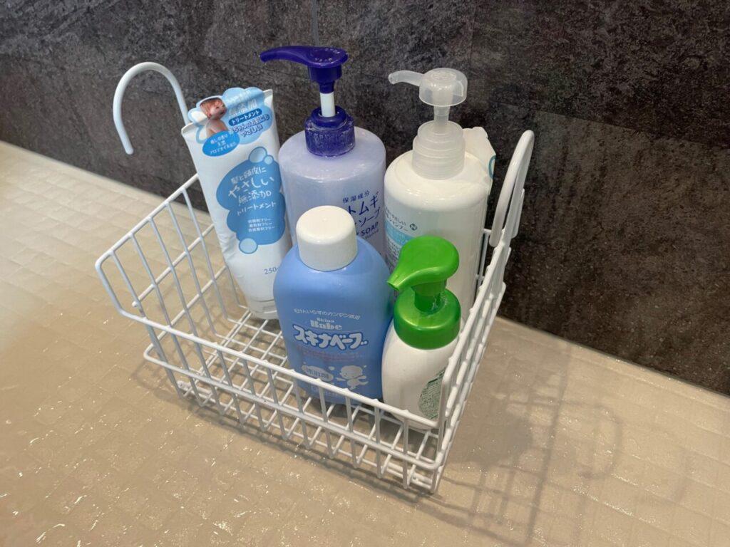 ビーワーススタイルのお風呂用カゴって収納力あるの?