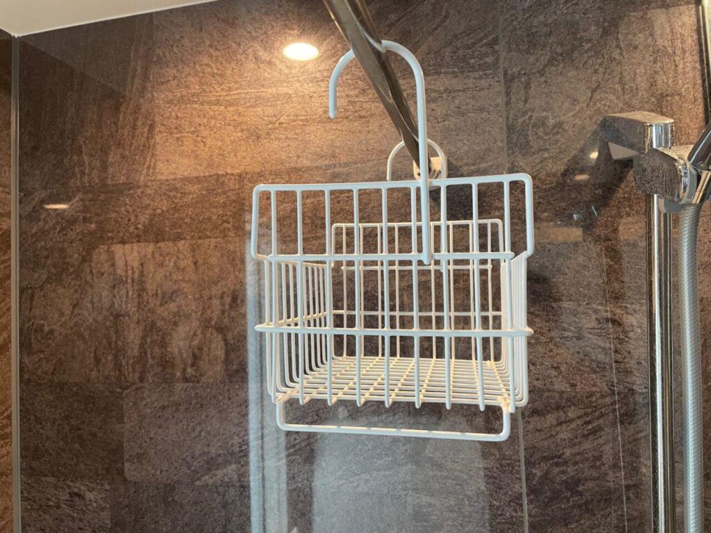 ビーワーススタイルのお風呂用カゴの横からおしゃれデザイン