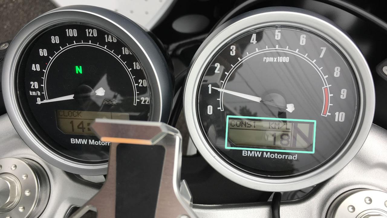 R nineT racer(BMW)の燃費について