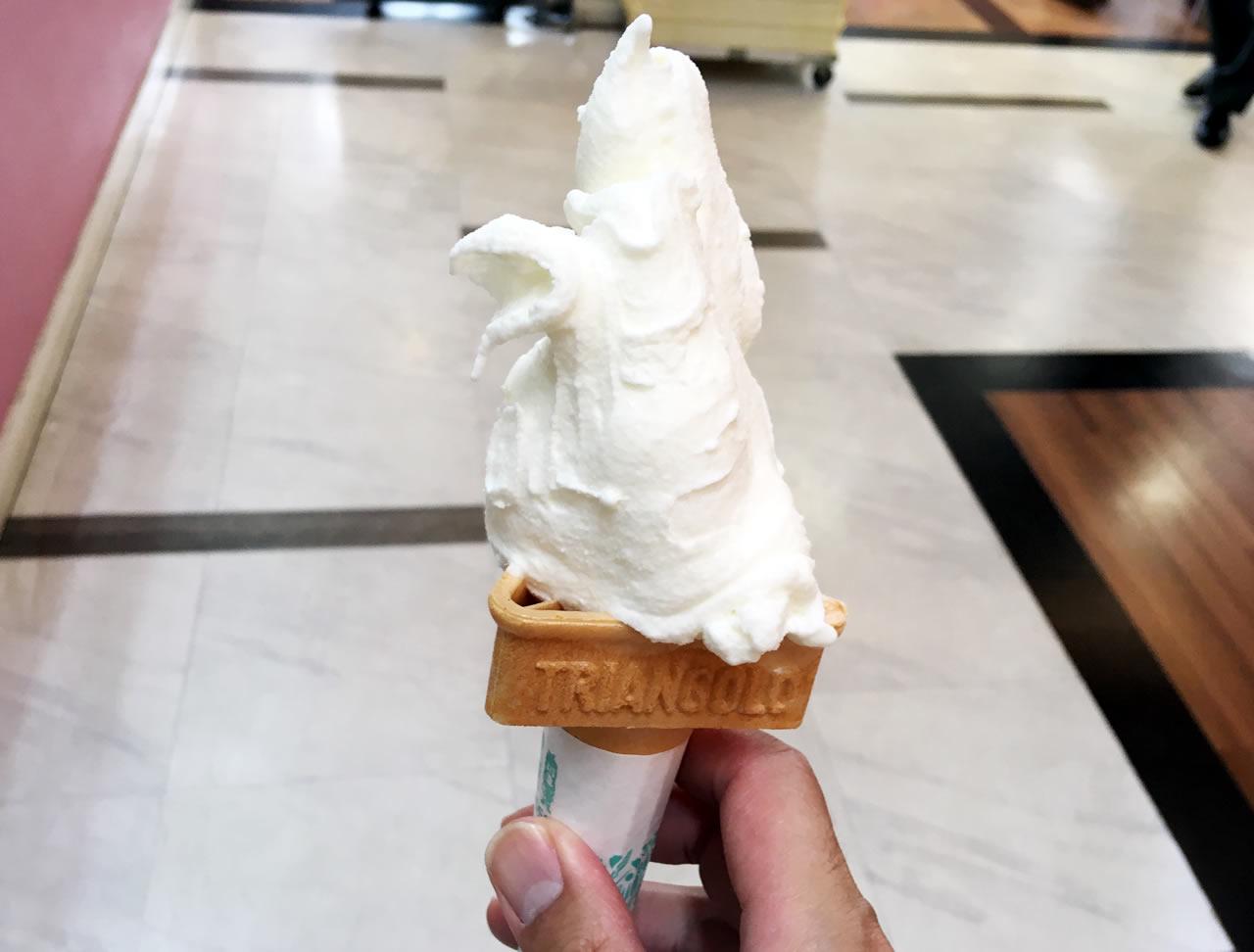 丹波おばあちゃんの里特製ソフトクリーム