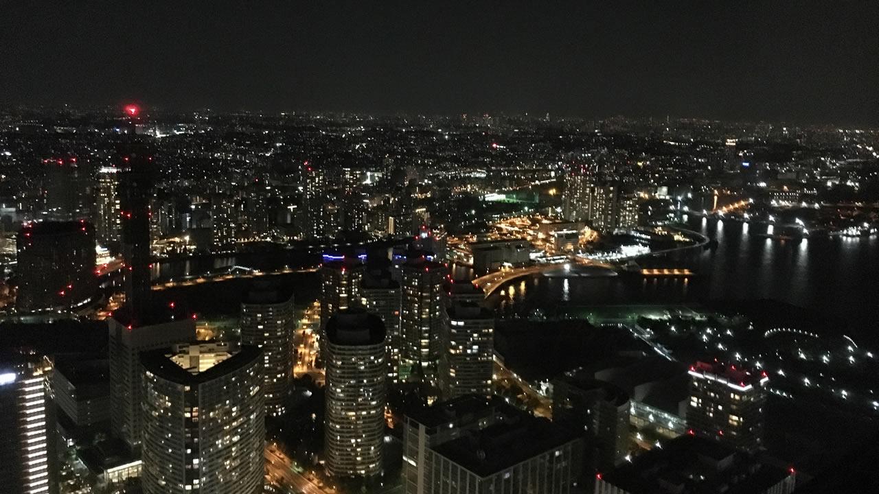 ロイヤルパークホテルの夜景