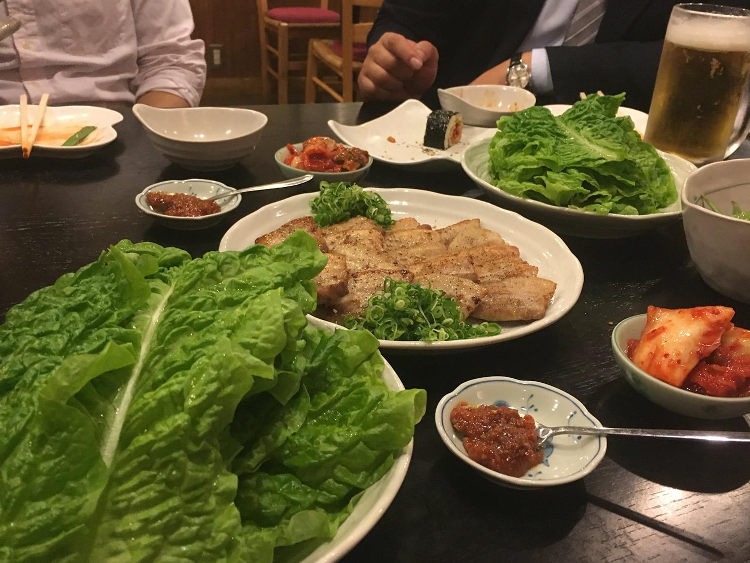 韓国炉ばた オモニ(韓国料理)