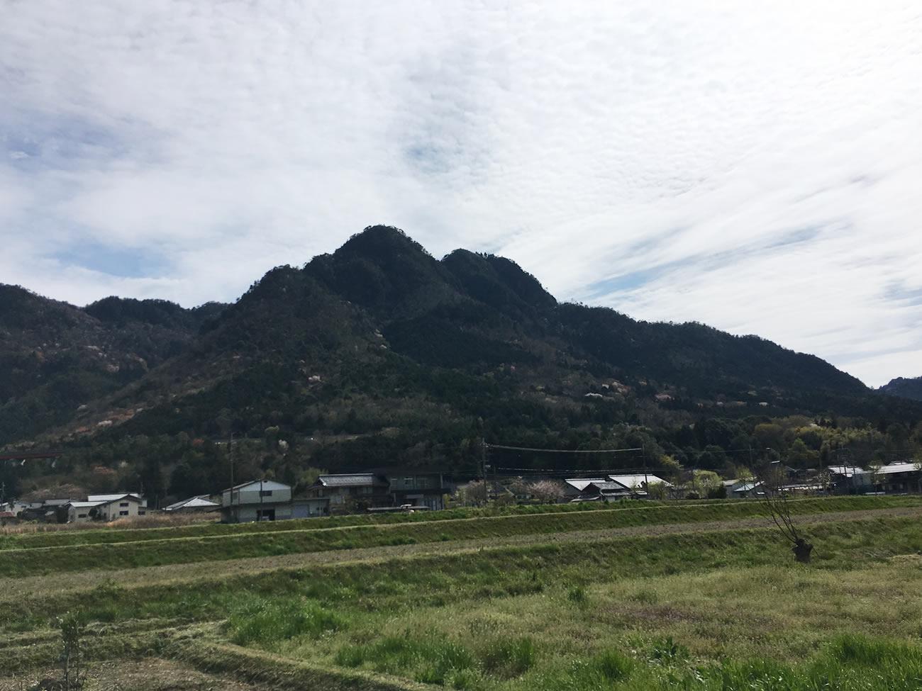 三尾山の絶景