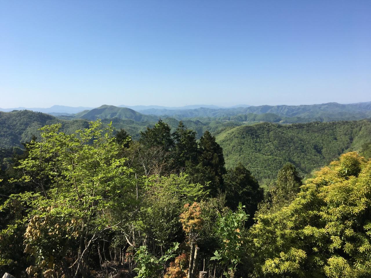 多紀連山の絶景
