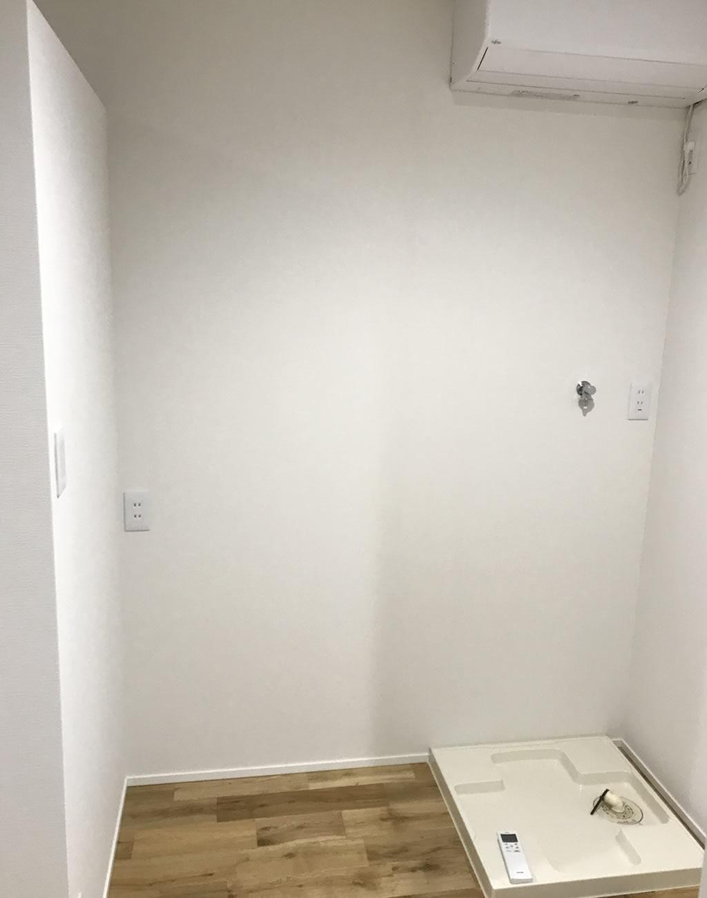 洗濯機のスペース