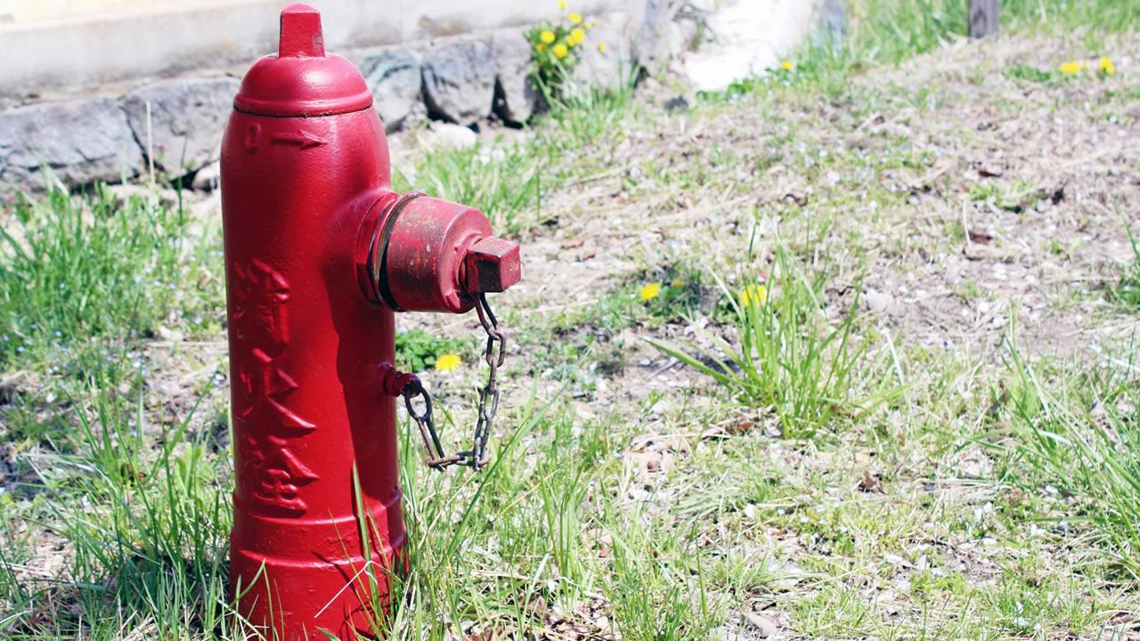 消火栓のいちを確認しておく