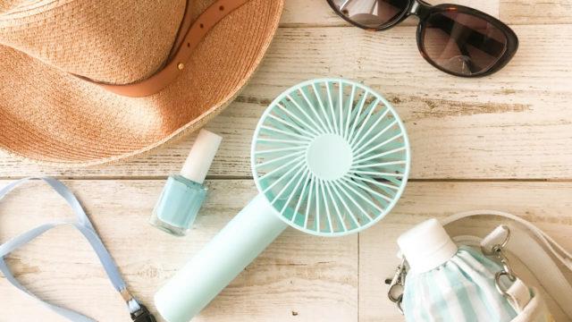 首かけ扇風機のおすすめランキング!汗ばむ夏の熱中症対策に人気の理由とは?