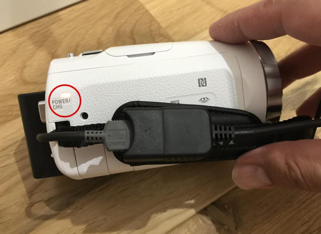 USBの延長コードに繋ぐ