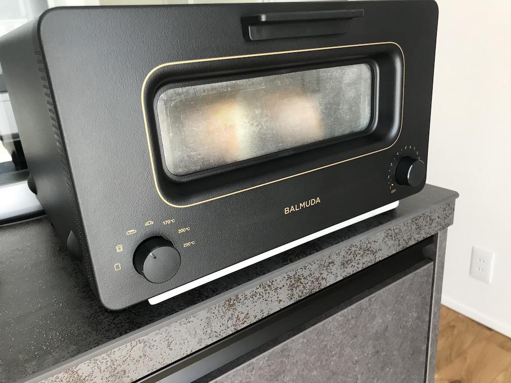 フランスパンを焼き始める