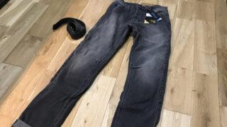 バイク専用デニム・PMJ(ピーエムジェイ)を買ってみた!質感や履き心地・フィット感を口コミ&レビュー
